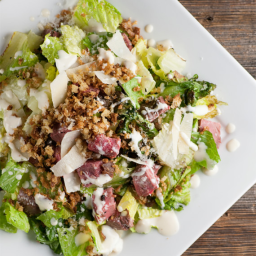 The Best Steak Caesar Salad Ever. Really.