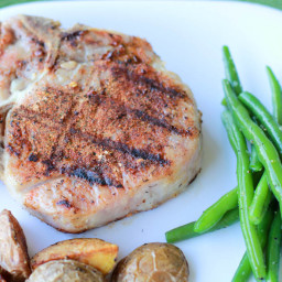 The Perfect Grilled Porterhouse Pork Chop