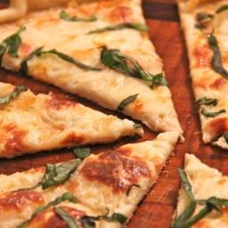 Thin Crust White Pizza