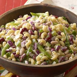 Three-Bean Macaroni Salad