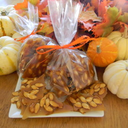 Toasted Pumpkin Seed Brittle