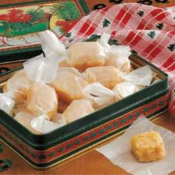Toasted Almond Caramels Recipe