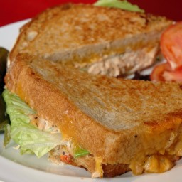 Toasted Walnut Tuna Melt