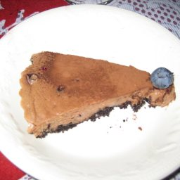 Toblerone & Blueberry Cheesecake
