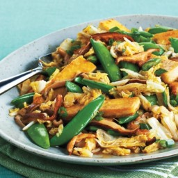 Tofu and Spring Vegetable Stir-Fry