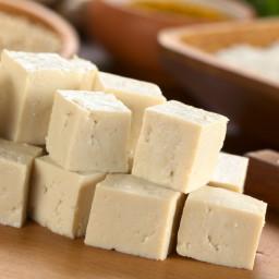 Tofu Baked in a Lemon-Rosemary Marinade
