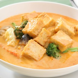 Tofu w/ Thai Curry Sauce