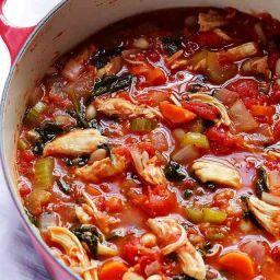 Tomato Basil Chicken Stew