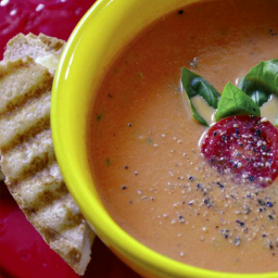 TOMATO BASIL CREAM SOUP