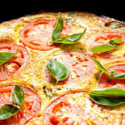 Tomato Basil FrittataRecipe