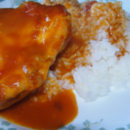 Tomato Soup Chicken and Rice