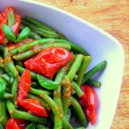 Tomato Stewed Green Bean (Fagiolini in Umido) - pressure cooker recipe