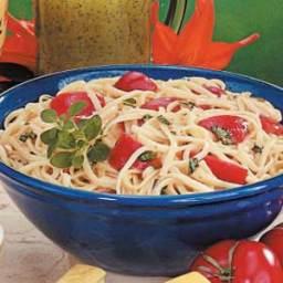 Tomato Basil Linguine Recipe