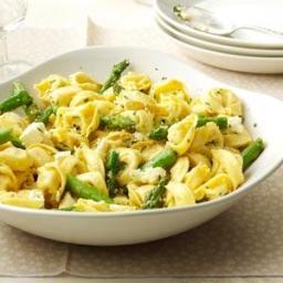 Tortellini with Asparagus and Lemon Recipe