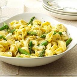Tortellini with Asparagus and Lemon Recipe