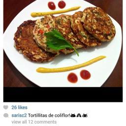 tortillas de coliflor sarisc