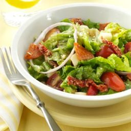 Tossed Pepperoni Pizza Salad Recipe