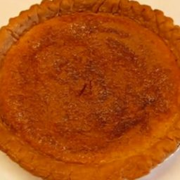 Traditional Southern Chess Pie