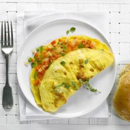 Treat Yourself to a Delicious Country Garden Omelet