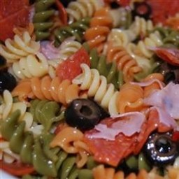 Tri-Color Pasta Salad
