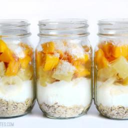 Tropical Yogurt Parfaits