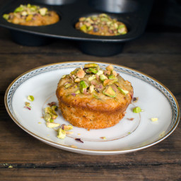 Tuesday Giveaways :: Pistachio Olive Oil Mini Tea Cakes