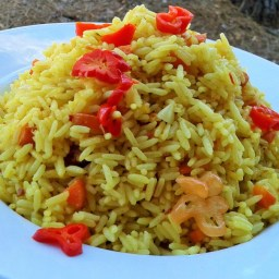 Tumeric Coconut Rice