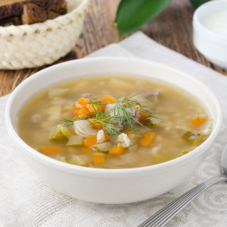 Turkey Barley Soup