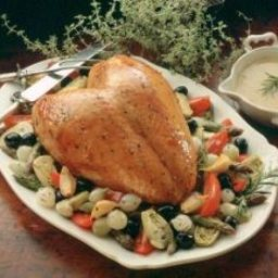 Turkey Breast Provencal with Vegetables