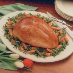Turkey Breast with Honey-Mustard Glaze