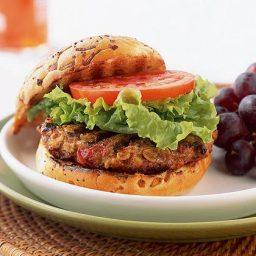 Turkey Burgers -- Cape Cod Supper