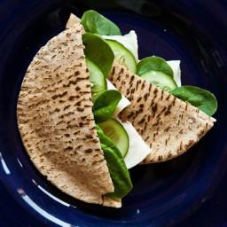 Turkey-Cheese Pita Pockets
