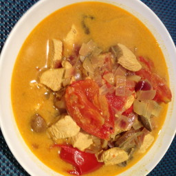 Turkey Coconut Curry