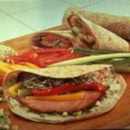 Turkey Ham Tortilla