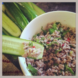 Turkey larb