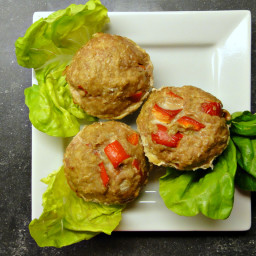 Turkey Meatloaf Muffins (DailyBurn Ignite)