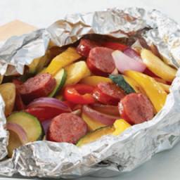 Turkey Sausage Pouch Meals