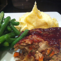 Turkey, Tarragon and Apple Meatloaf