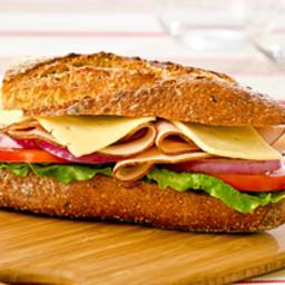 Turkey With Avocado Mayo Sandwich