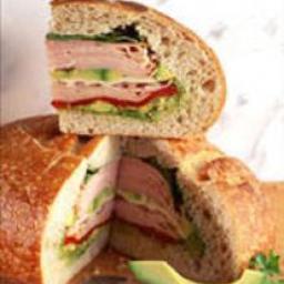 Turkey with Avocado Sandwich