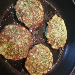 Turkish Courgette Pancakes