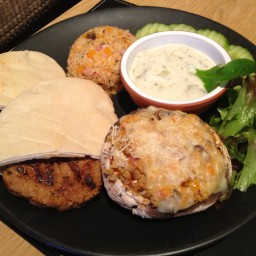 Turkish Lamb Burgers