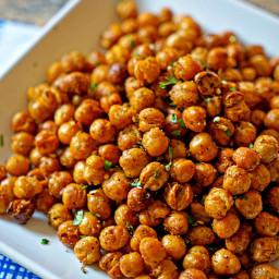 Turkish Roasted Chickpeas