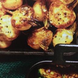Turnips, braised