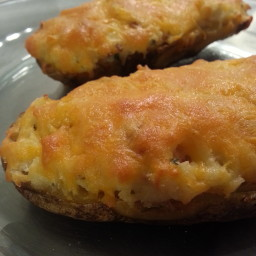 Twice-Baked Potatoes Irish Style