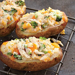 Twice-Baked Potatoes Four Ways