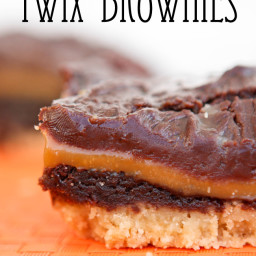 Twix Brownies