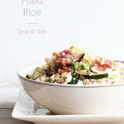 Two Dilemmas {Recipe: Bacon Fried Rice}