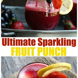 Ultimate Sparkling Fruit Punch