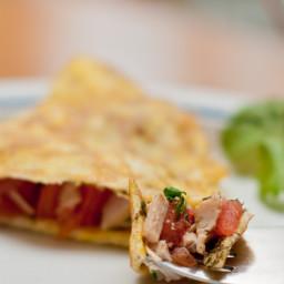 Ultimate Turkey Avocado Omelet